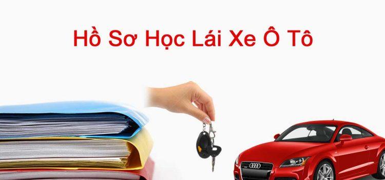 hồ sơ học lái xe ô tô cần những gì