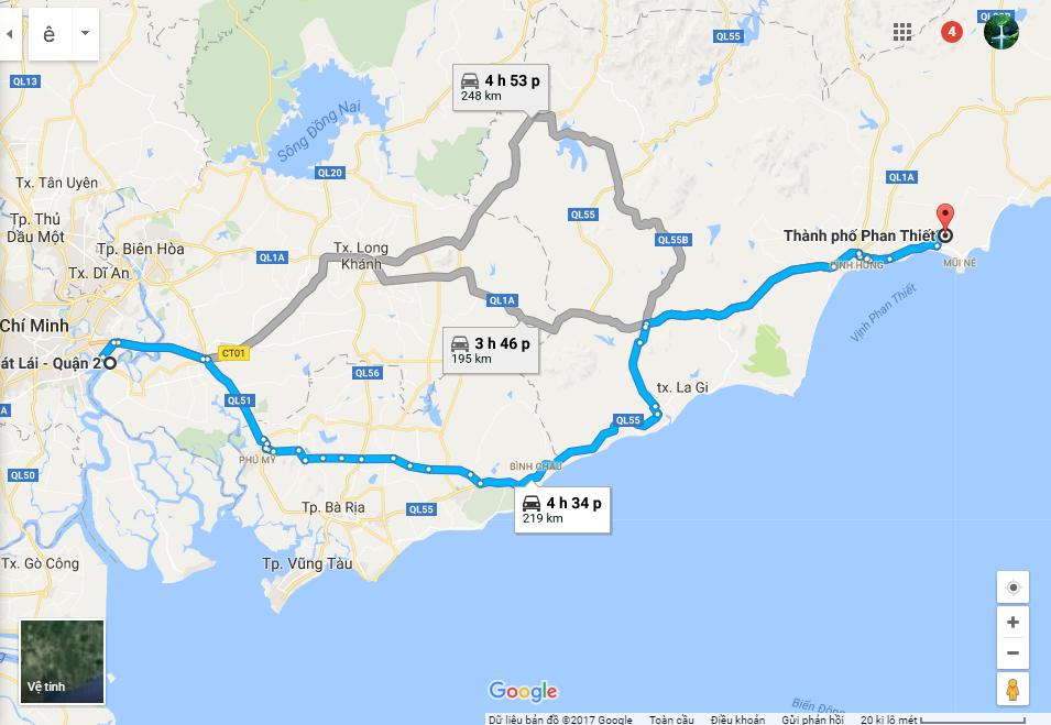 Đường Đi Phan Thiết