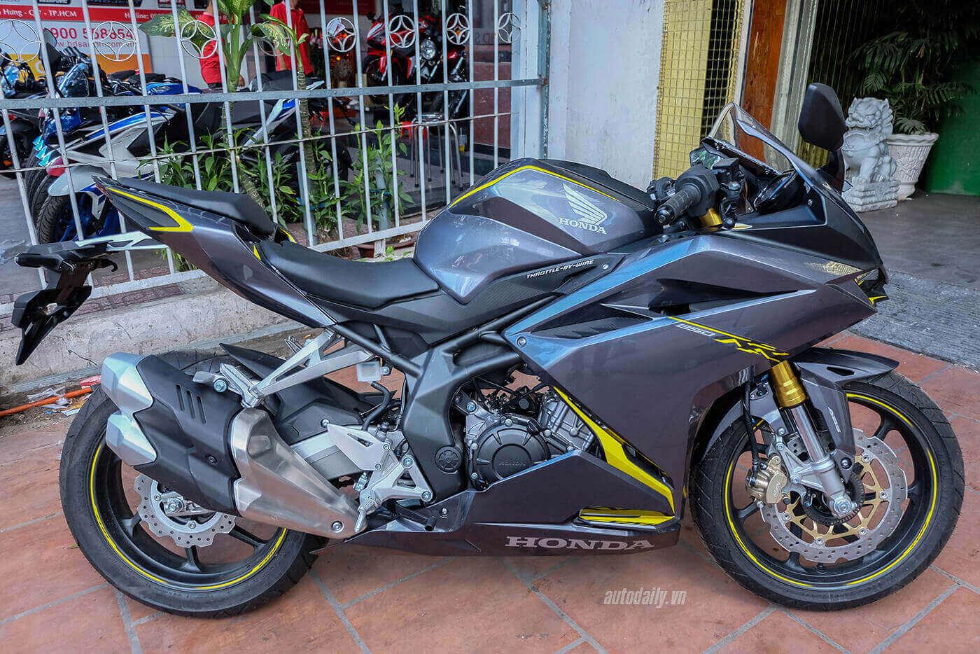 Honda CBR 250 RR ABS 2017 xe mô tô giá dưới 300 triệu
