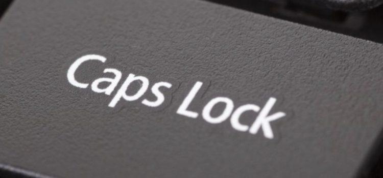 Caps Lock Là Gì? Sự Ra Đời Phím Caps Lock