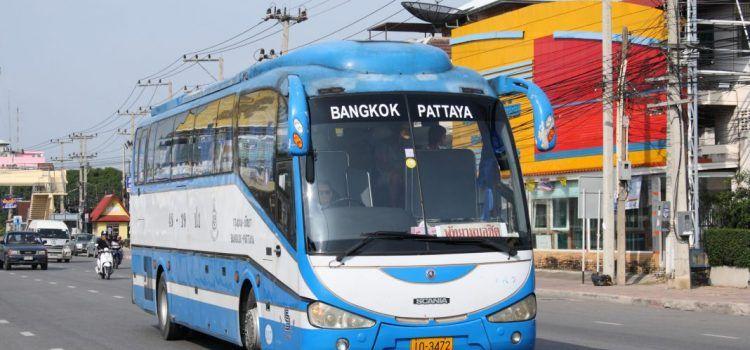 hướng dẫn đi từ pattaya về bangkok