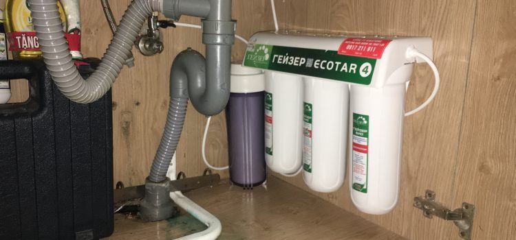 tại sao máy lọc nước không ngắt