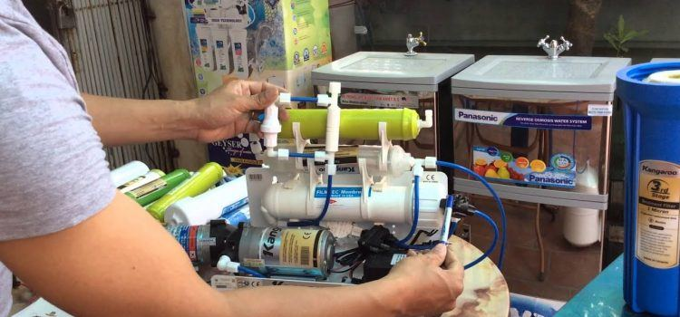 tại sao máy lọc nước không chạy