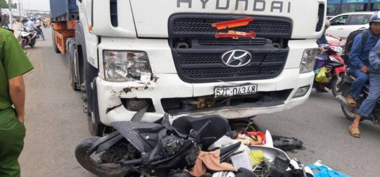 vụ tai nạn giao thông ở bên lức