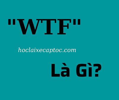 WTF Là Gì – Những Ý Nghĩa Phổ Biến Của Từ WTF