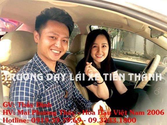 mai phuong thuy hoc lai xe