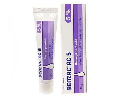 sản phẩm trị mụn đầu đen Benzac AC 5% – Galderma Úc