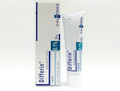 sản phẩm trị mụn đầu đen Differin Adapalene 0.1%