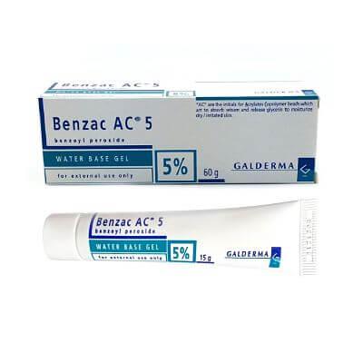 Kem Trị Mụn Galderma Benzac AC 5 5% 15g