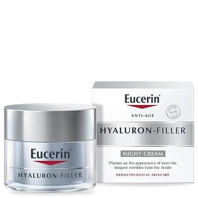 Kem chống lão hóa Eucerin ban đêm Anti-Age Hyaluron Filler 50ml