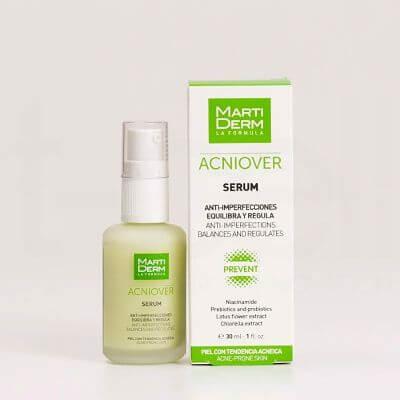 Serum dành cho da dầu mụn, chân lông to - MartiDerm Acniover Serum (30ml)