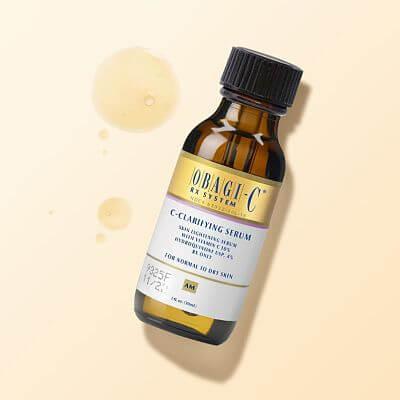 Serum trắng da trị thâm nám Obagi-C Rx C-Clarifying cho da dầu