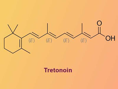 cách trị mụn đầu trắng bằng Tretinoin