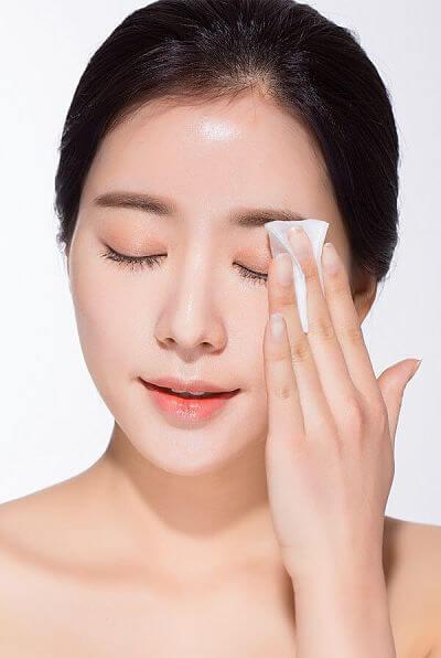 tẩy trang cho da mặt